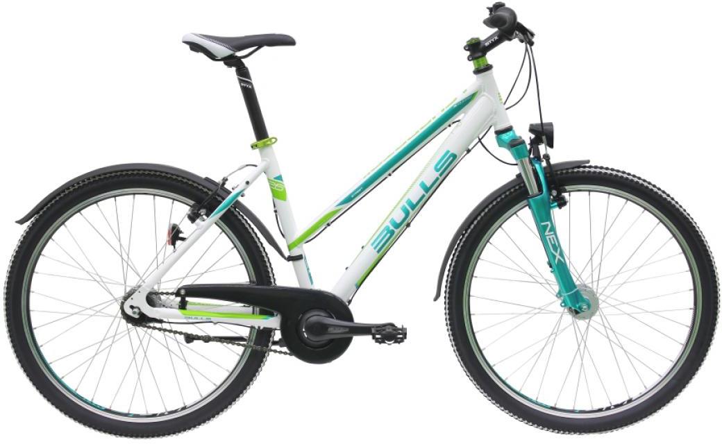 Велосипед женский Bulls Sharptail Street 1 (7-spd) 2016, цвет: белый, рама 20, колесо 26257337