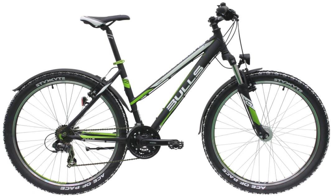 Велосипед женский Bulls Sharptail Street 1 2016, цвет: черный, рама 20, колесо 27,5257340