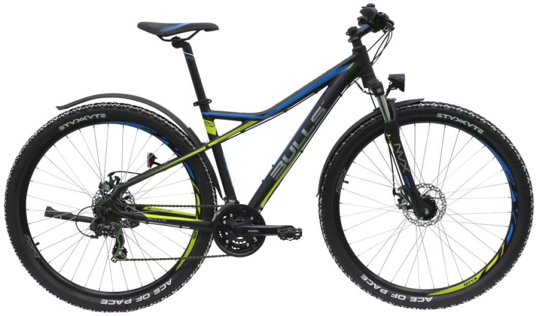 Велосипед горный Bulls Sharptail Street 2 2016, цвет: черный, рама 16, колесо 29257368
