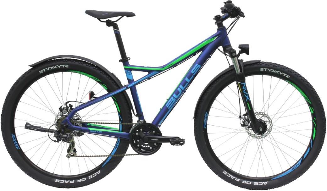 Велосипед горный Bulls Sharptail Street 2 2016, цвет: синий, рама 18, колесо 29257373