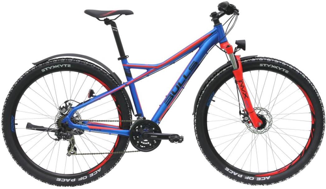 Велосипед горный Bulls Sharptail Street 2 2016, цвет: фиолетовый, рама 18, колесо 29257377