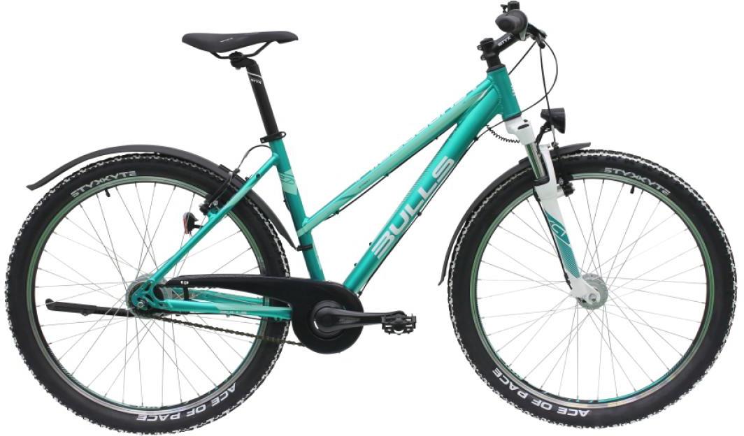 Велосипед женский Bulls Sharptail Street 2 Lady 2016, цвет: зеленый, рама 18, колесо 27,5257387