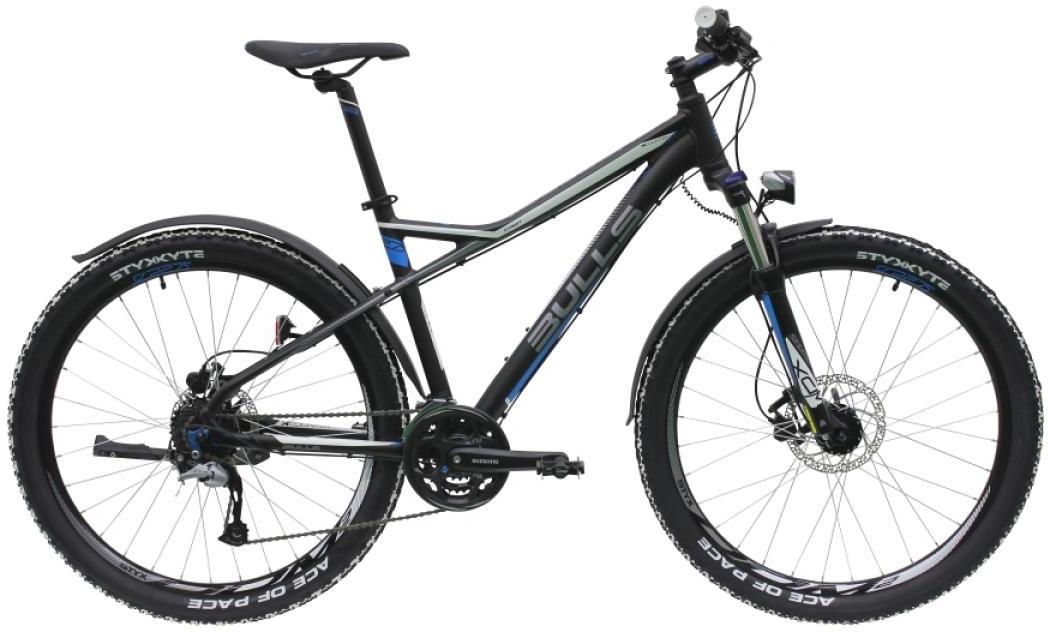 Велосипед горный Bulls Sharptail Street 3 Disc 2016, цвет: черный, рама 18, колесо 27,5. 0257390257390