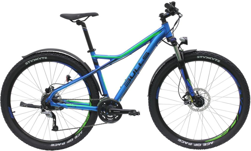 Велосипед горный Bulls Sharptail Street 3 Disc 2016, цвет: синий, рама 22, колесо 27,5257396