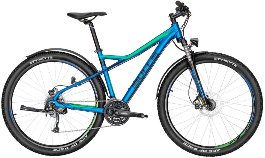 Велосипед горный Bulls Sharptail Street 3 Disc 2016, цвет: синий, рама 18, колесо 29257402