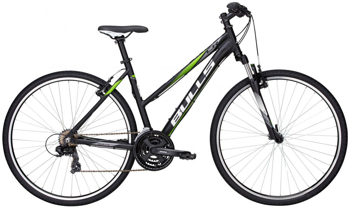 Велосипед женский Bulls Pulsar Cross Lady 2016, цвет: черный, рама 17,5, колесо 28257417