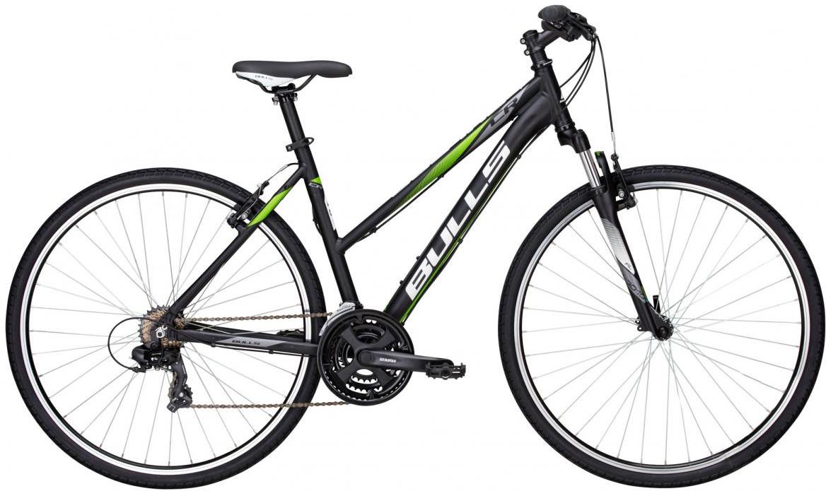 Велосипед женский Bulls Pulsar Cross Lady 2016, цвет: черный, рама 19, колесо 28257418
