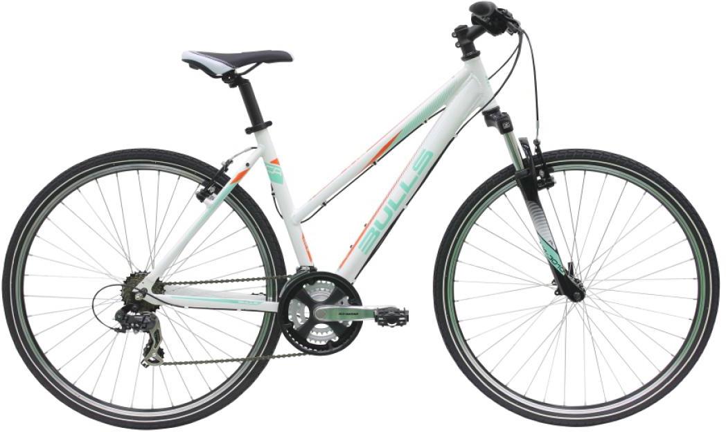 Велосипед женский Bulls Pulsar Cross Lady 2016, цвет: белый, рама 17,5, колесо 28257420