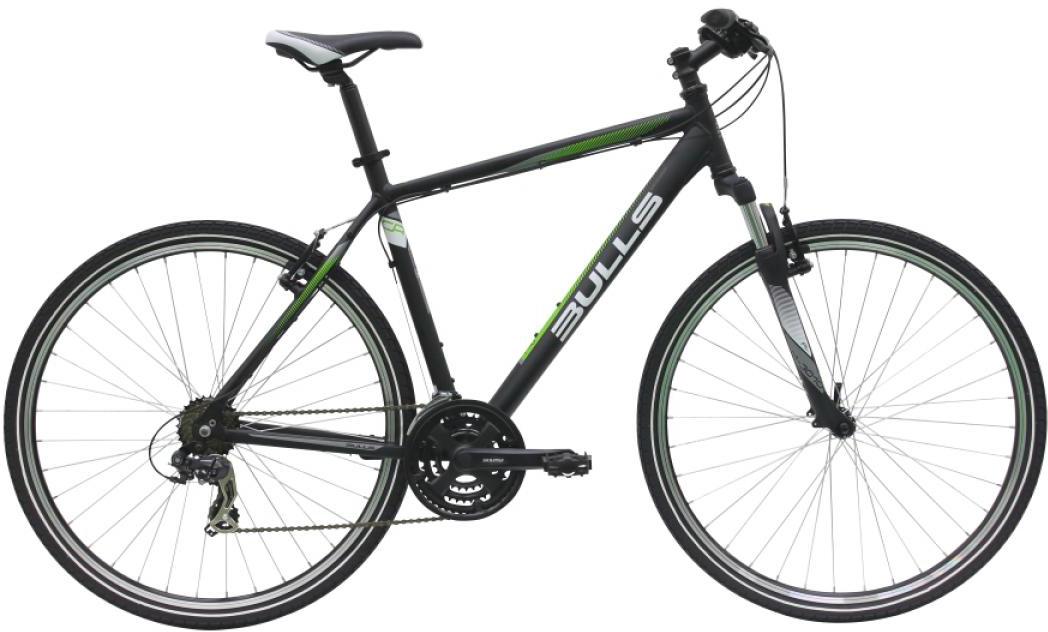 Велосипед городской Bulls Pulsar Cross Gent 2016, цвет: черный, рама 21,5, колесо 28257424