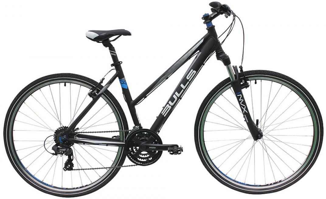 Велосипед женский Bulls Wildcross 2016, цвет: черный, рама 17,5, колесо 28257428