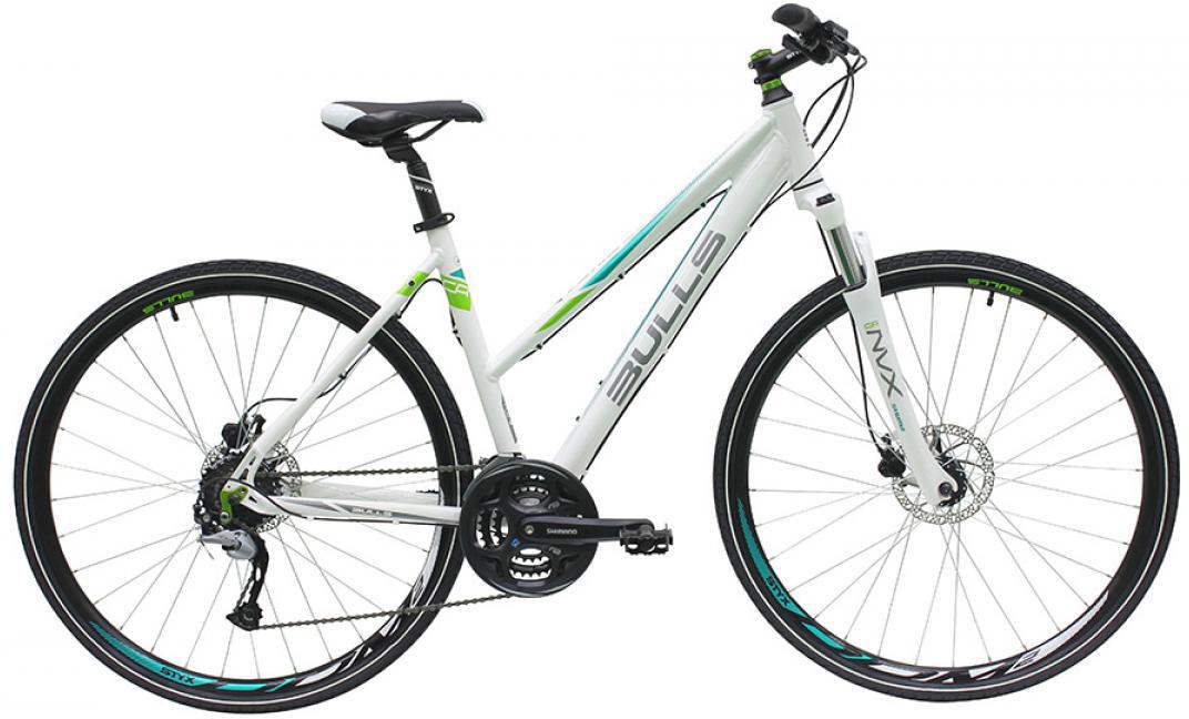 Велосипед женский Bulls Cross Bike 1 2016, цвет: белый, рама 19, колесо 28257435