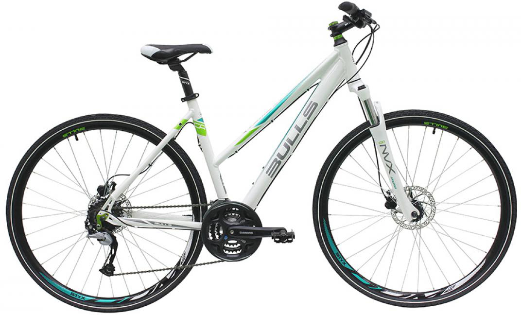 Велосипед женский Bulls Cross Bike 1 2016, цвет: белый, рама 21,5, колесо 28257436