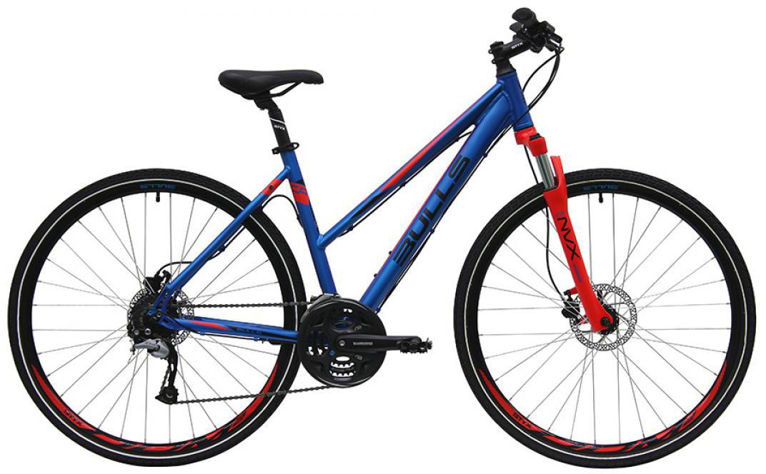 Велосипед женский Bulls Cross Bike 1 2016, цвет: синий, рама 19, колесо 28257441