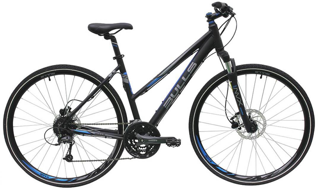 Велосипед женский Bulls Cross Bike 2 2016, цвет: черный, рама 19, колесо 28257444