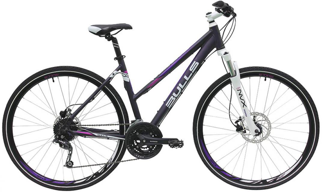 Велосипед женский Bulls Cross Bike 2 2016, цвет: фиолетовый, рама 19, колесо 28257447