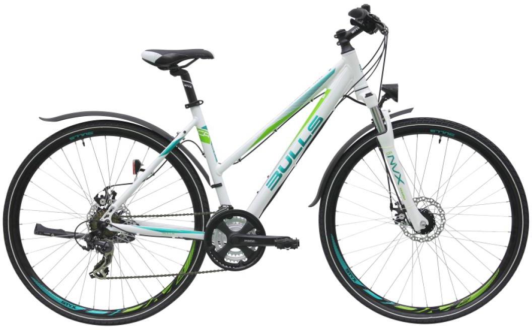 Велосипед женский Bulls Wildcross Street 2016, цвет: белый, рама 19, колесо 28257474