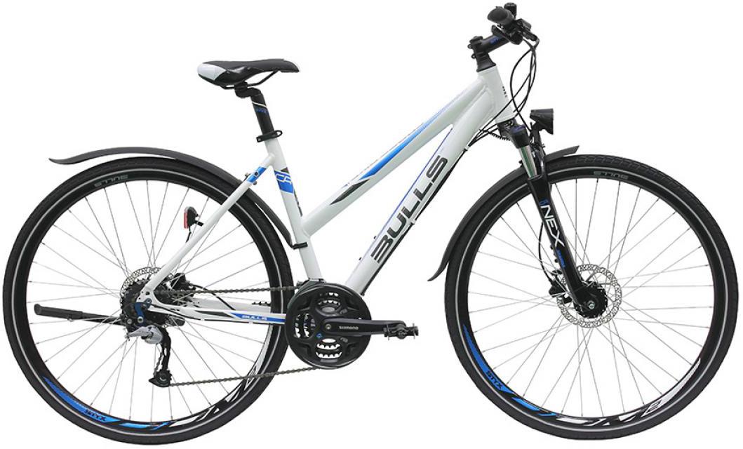 Велосипед женский Bulls Cross Bike Street 2016, цвет: белый, рама 19, колесо 28257483