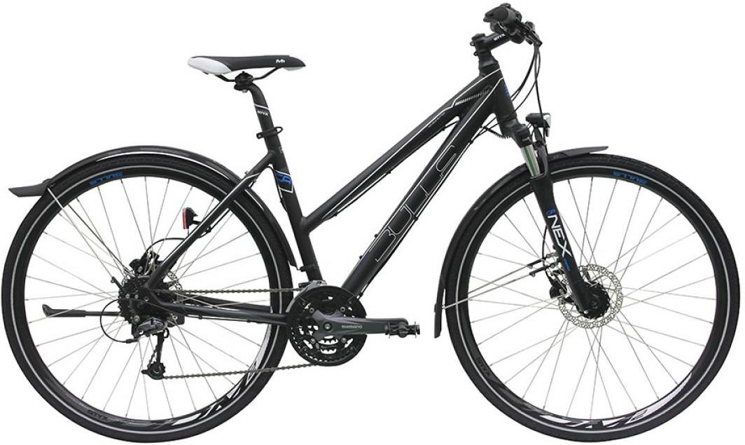 Велосипед женский Bulls Street Flyer 2016, цвет: черный, рама 17,5, колесо 28257485