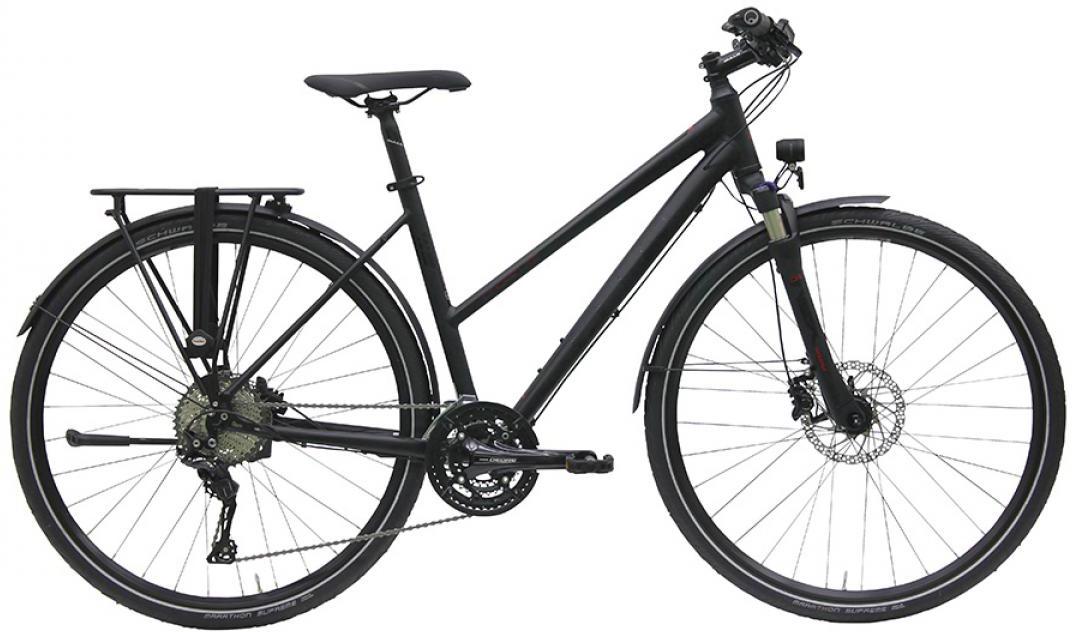 Велосипед женский Bulls Cross Lite (33-spd) 2016, цвет: черный, рама 19, колесо 28257497