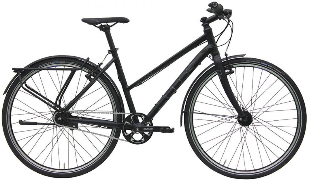Велосипед женский Bulls Urban 8 Street Lady 2016, цвет: черный, рама 17,5, колесо 28257503