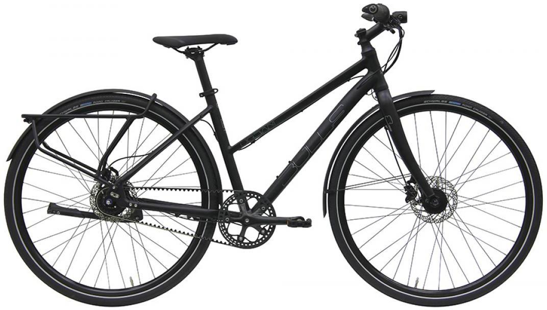 Велосипед женский Bulls Urban 8S Continental Lady 2016, цвет: черный, рама 17,5, колесо 28257506