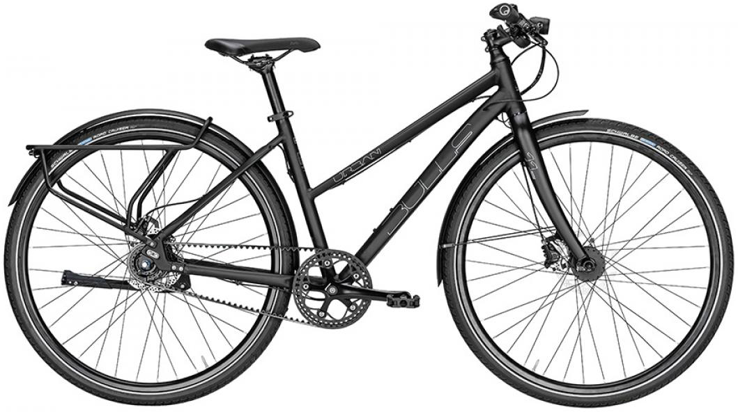 Велосипед женский Bulls Urban 11S Continental Lady 2016, цвет: черный, рама 19, колесо 28257510