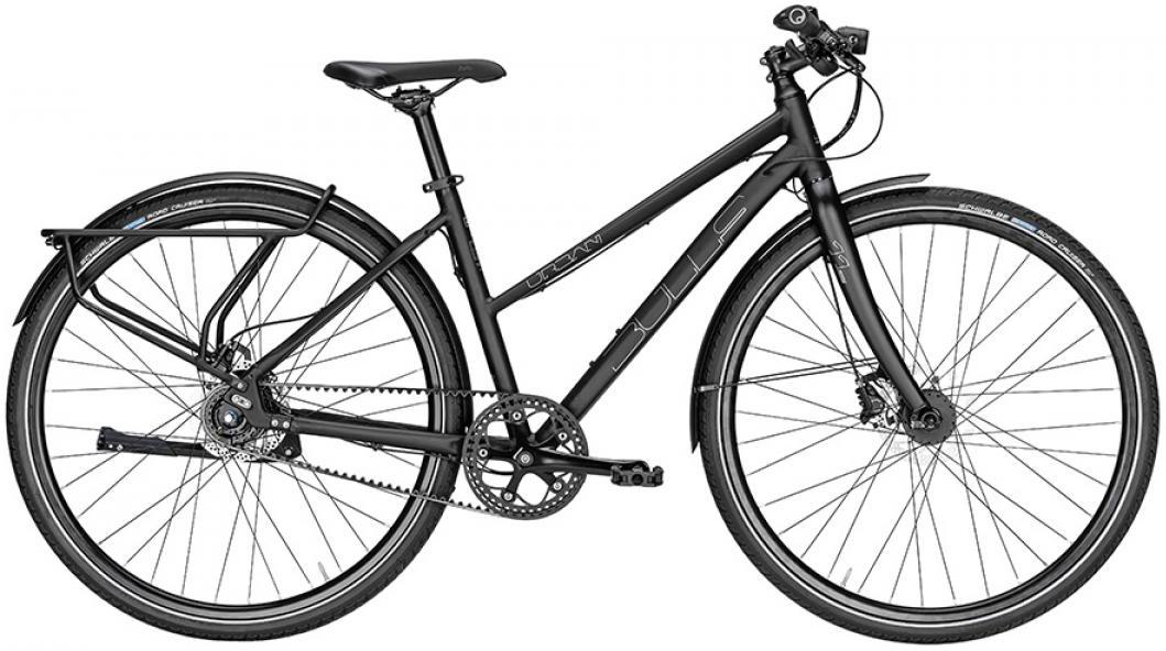 Велосипед женский Bulls Urban 11S Continental Lady 2016, цвет: черный, рама 21,5, колесо 28257511