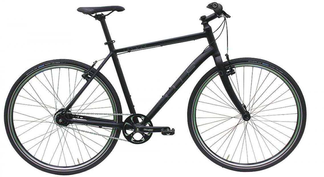 Велосипед городской Bulls Urban 8 Gent 2016, цвет: черный, рама 19, колесо 28257518