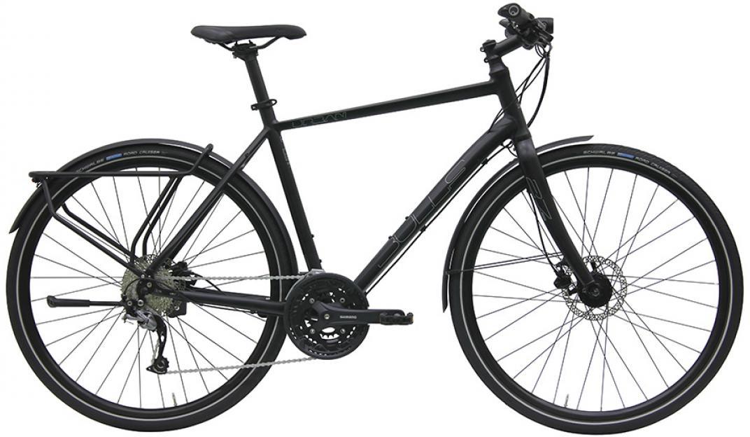 Велосипед городской Bulls Urban 27 Street Gent 2016, цвет: черный, рама 24, колесо 28257525