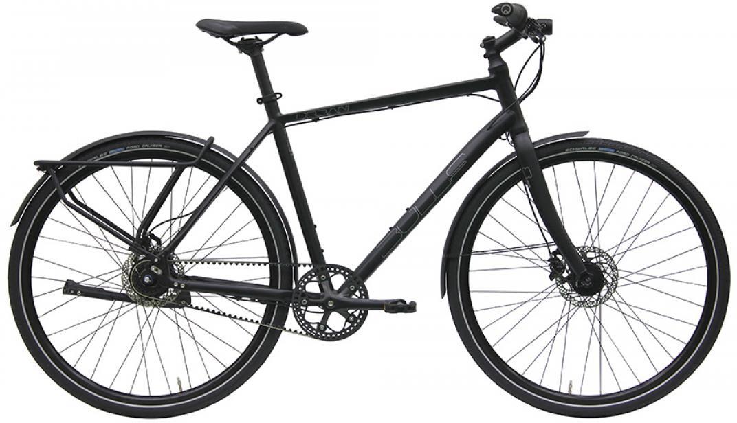 Велосипед городской Bulls Urban 8S Continenta Gent 2016, цвет: черный, рама 21,5, колесо 28257531