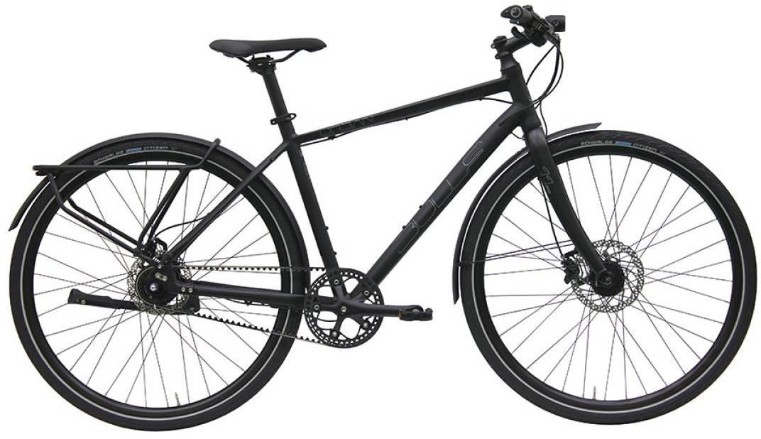 Велосипед городской Bulls Urban 11S Continental Gent 2016, цвет: черный, рама 21,5, колесо 28257535
