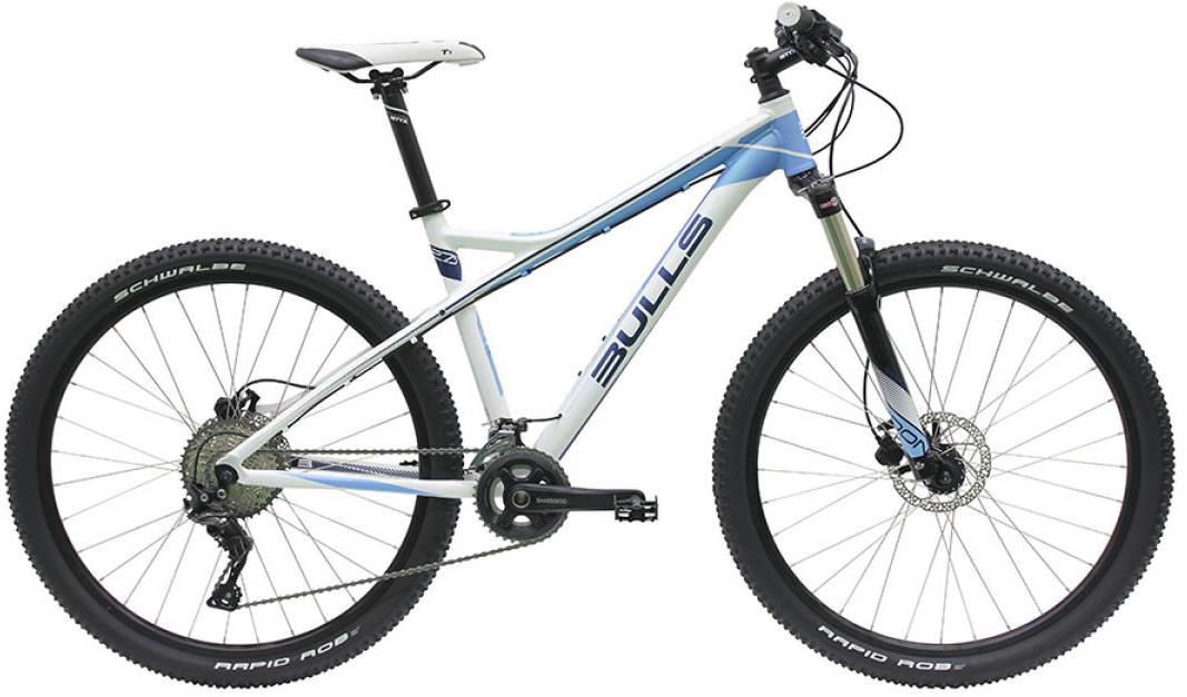 Велосипед женский Bulls Aminga LT 2016, цвет: белый, рама 18, колесо 27,5257540