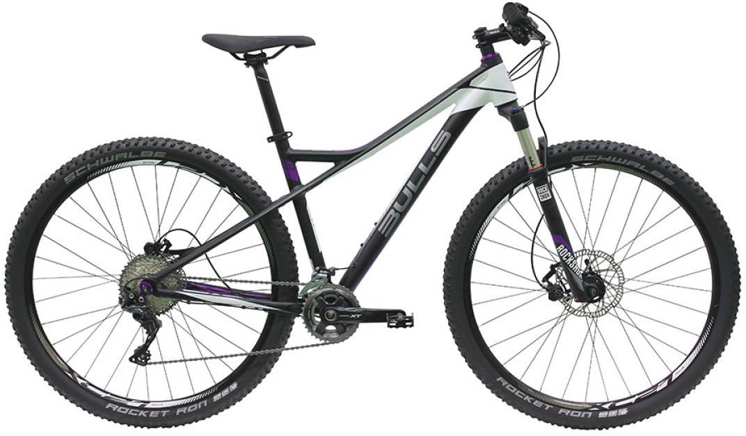 Велосипед женский Bulls Aminga 2016, цвет: черный, рама 16, колесо 29257557