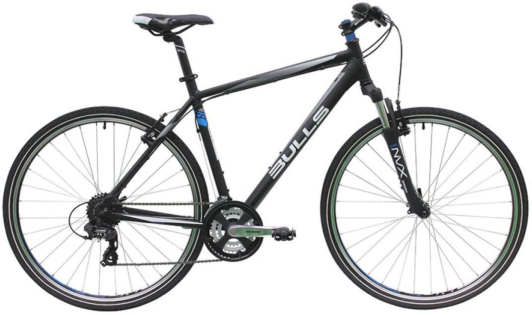 Велосипед городской Bulls Wildcross Gent 2016, цвет: черный, рама 21,5, колесо 28257560