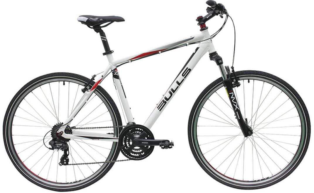 Велосипед городской Bulls Wildcross Gent 2016, цвет: белый, рама 23, колесо 28257566