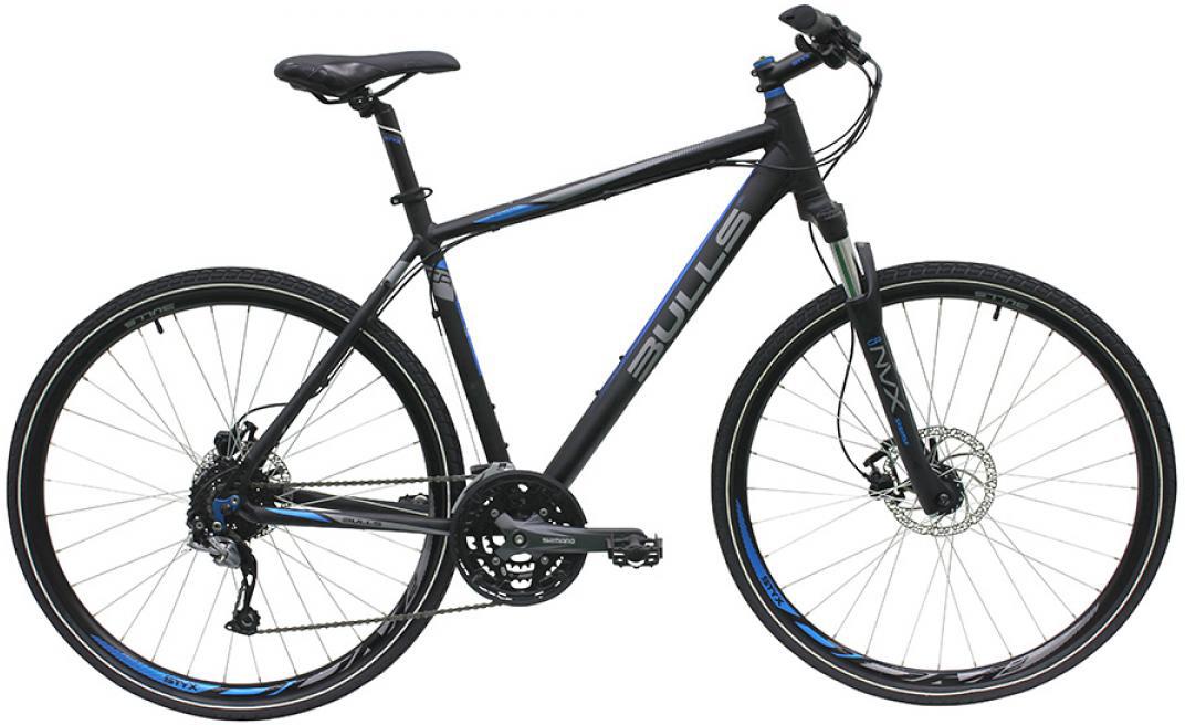 Велосипед городской Bulls Cross Bike 2 Gent 2016, цвет: черный, рама 21,5, колесо 28257580