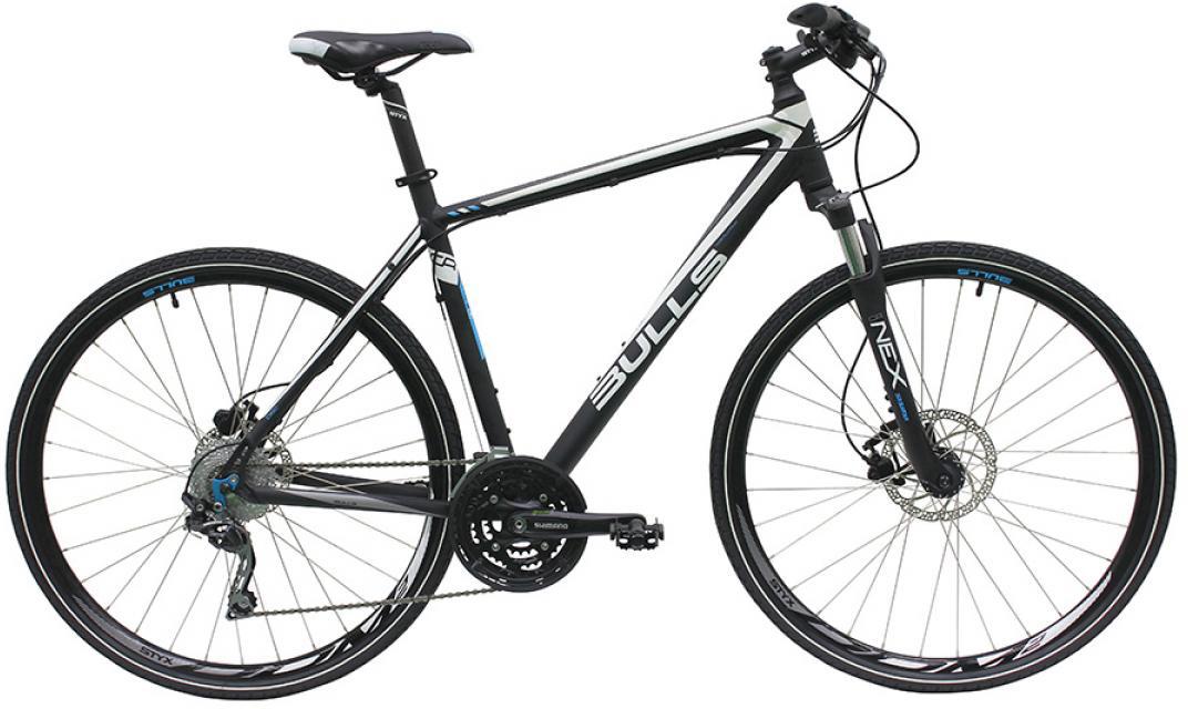 Велосипед городской Bulls Cross Tail Gent 2016, цвет: черный, рама 21,5, колесо 28257585