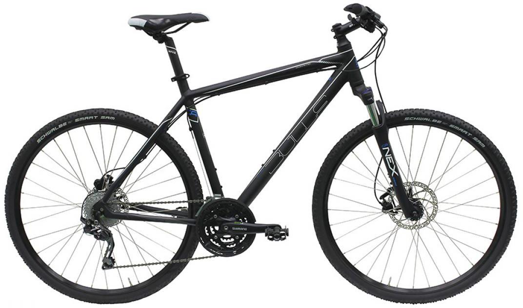 Велосипед городской Bulls Cross Flyer Disc Gent 2016, цвет: черный, рама 19, колесо 28257589