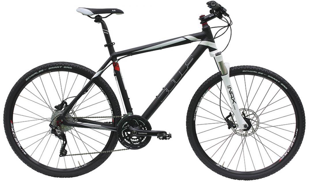 Велосипед городской Bulls Cross Mover Gent 2016, цвет: черный, рама 21,5, колесо 28257598