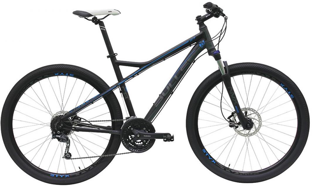 Велосипед горный Bulls Cross Rider 27 Fit for Fun 2016, цвет: серый, рама 17,5, колесо 29257601