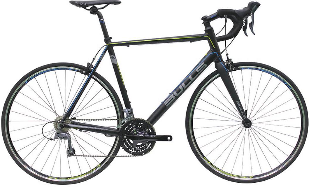 Велосипед шоссейный Bulls Vulture 1 2016, цвет: черный, рама 20, колесо 28257616
