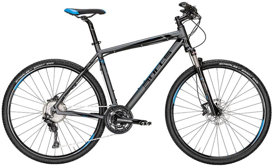Велосипед городской Bulls Cross RS 2016, цвет: серый, рама 24, колесо 28257627