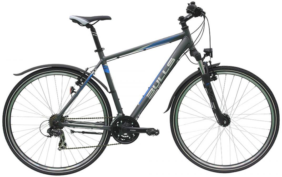 Велосипед городской Bulls Pulsar Cross Street Gent 2016, цвет: серый, рама 17,5, колесо 28257629