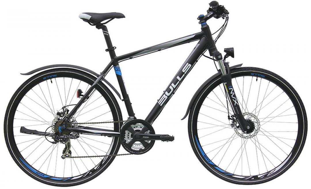 Велосипед городской Bulls Wildcross Street Gent 2016, цвет: черный, рама 21,5, колесо 28257645