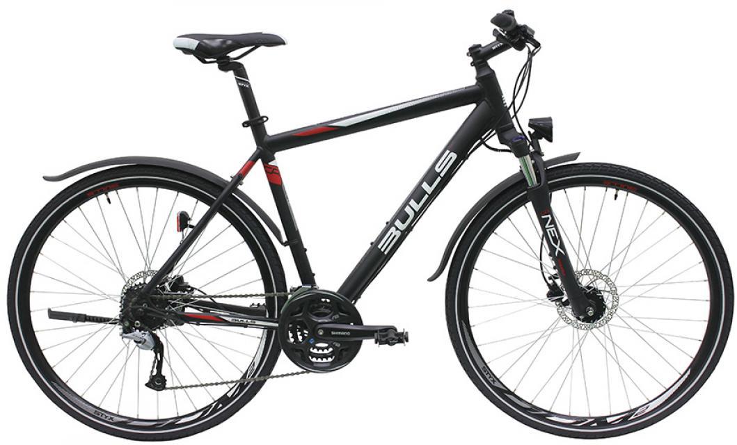 Велосипед городской Bulls Cross Bike Street Gent 2016, цвет: черный, рама 21,5, колесо 28257653