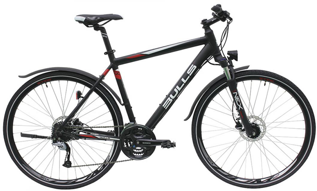 Велосипед городской Bulls Cross Bike Street Gent 2016, цвет: черный, рама 23, колесо 28257655