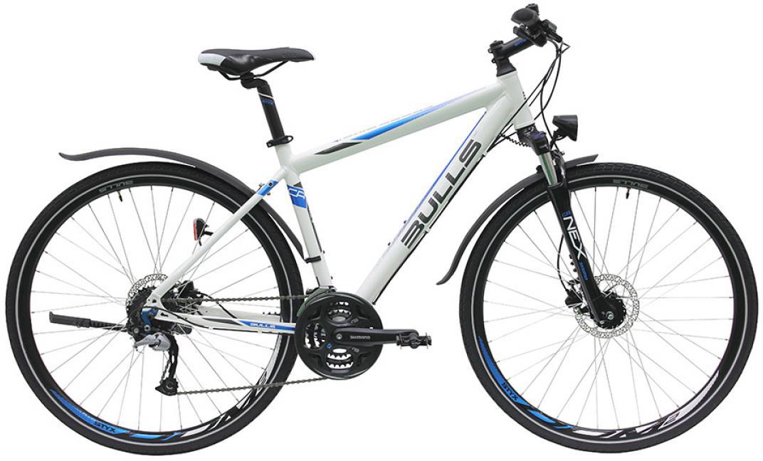 Велосипед городской Bulls Cross Bike Street Gent 2016, цвет: белый, рама 17,5, колесо 28257658