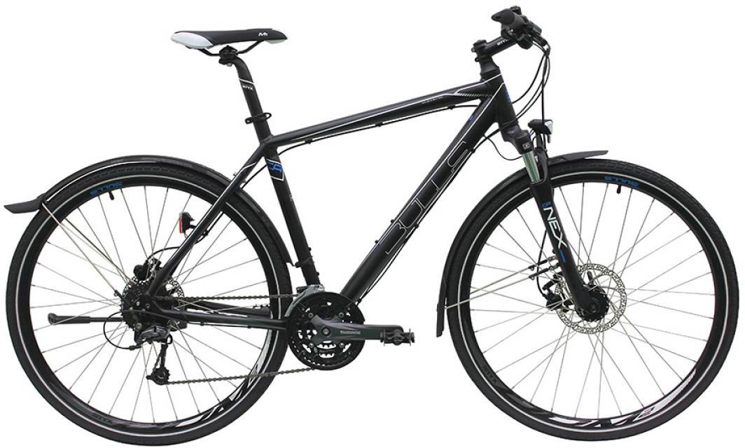 Велосипед городской Bulls Street Flyer Gent 2016, цвет: черный, рама 19, колесо 28257664