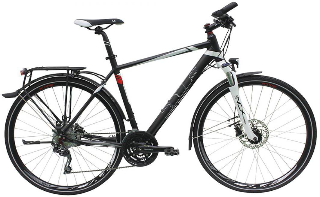Велосипед городской Bulls Street Mover Gent 2016, цвет: черный, рама 21,5, колесо 28257673