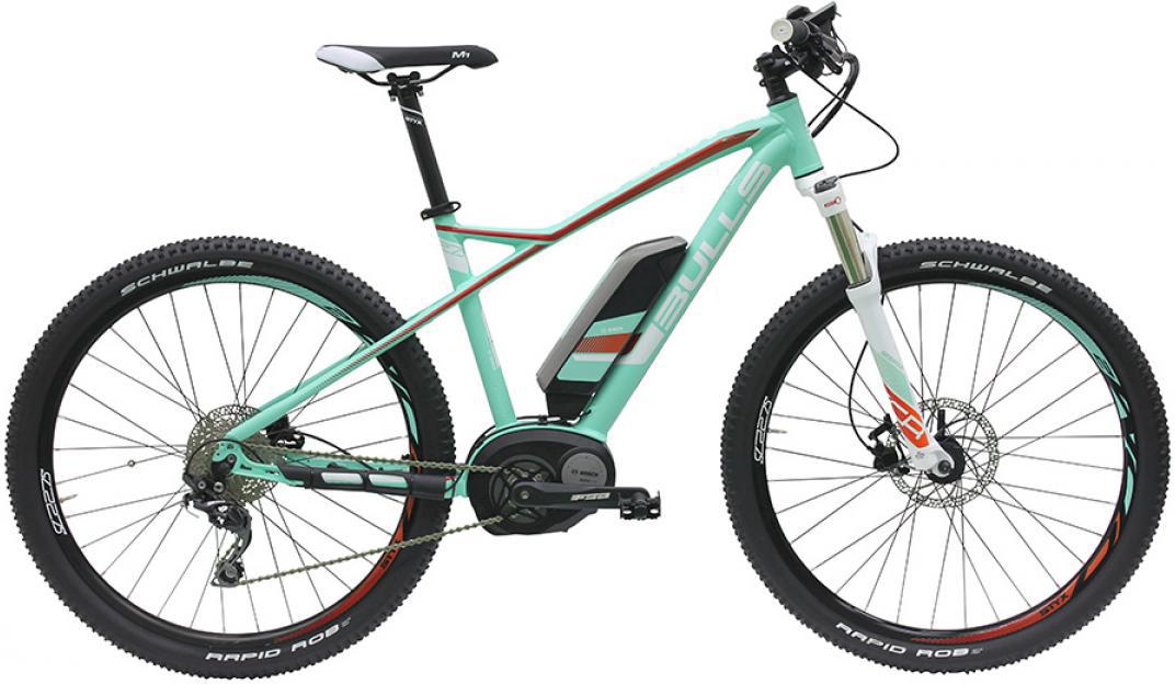 Электровелосипед Bulls Aminga E1 2016, цвет: зеленый, рама 18, колесо 27,5257692